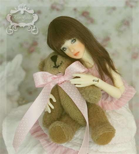 Boneka Bjd 1 4 Set As In Picture garden 1 12 18cm tiny bjd fleur preorder by