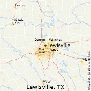 map of lewisville best places to live in lewisville