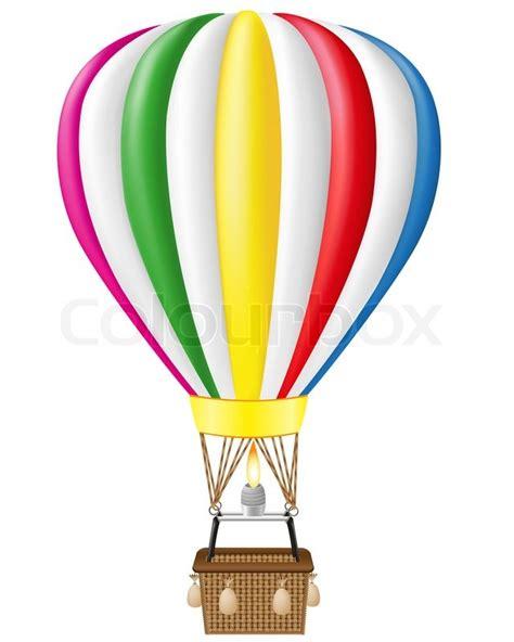 illustrator tutorial hot air balloon hot air balloon illustration stock photo colourbox