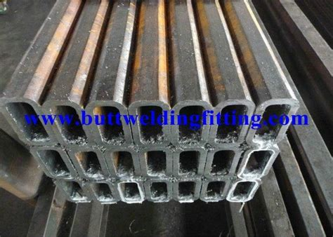 astm a500 gr b square and rectangular stainless steel welded pipe with length 1 12 meter