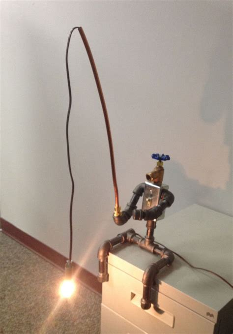 Fisherman Table L by Fisherman Industrial Robot Black Pipe Table L Steunk Fishing Electrical Ebay