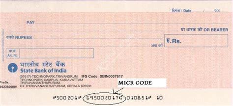 micr code of bank ifsccode sbi