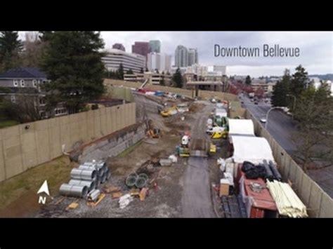 Light Rail Bellevue by Sunday Bellevue Light Rail Tunnel Portal 187 The Urbanist