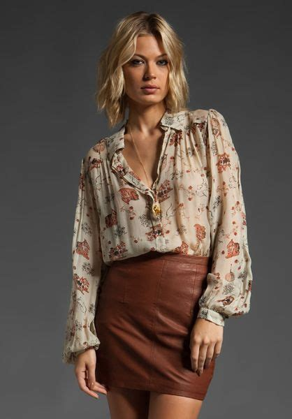 Witer Blouse By winter kate tilapia blouse in multicolor lyst