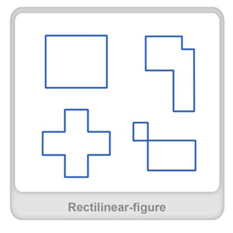 figure definition what is rectilinear figure definition facts exle