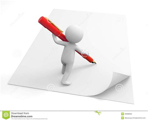 person writing on paper write on paper royalty free stock photo image 30988065