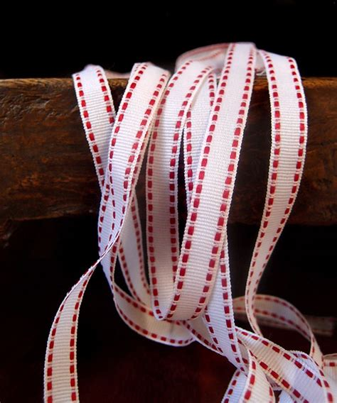 3434 Top Impor Ribbon saddle stitch topstitch ribbon