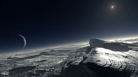 The View From Pluto by The Pluto Encounter A View From Afar Huffpost
