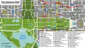 Washington Dc Tour Map by Map Of Washington Dc Map Of World Dc Trip Pinterest