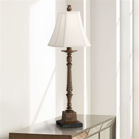 traditional bedroom lamps regency hill traditional console table lamp crackled brown 13569 | 213b2219 9883 4ae9 80a1 30825753cbea 1.3f85e873c42660e8ecbf62ac288a5703