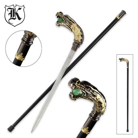 custom sword canes roaring custom sword budk knives