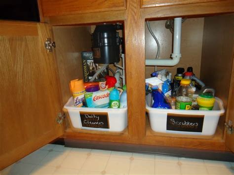 55 Best Images About Under The Sink Organizing On Organize Kitchen Sink