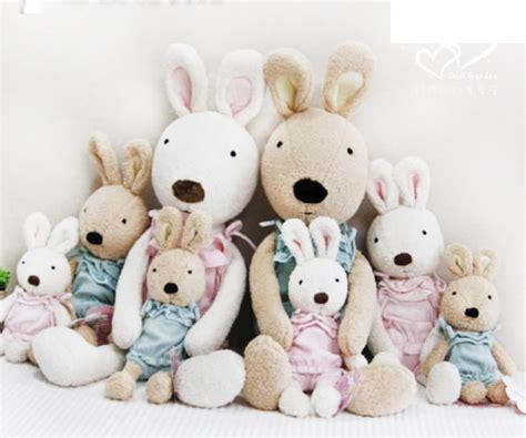 Le Sucre 55cm by Le Sucre法國兔砂糖兔 新款粉紅毛毛兔款 60cm 法國兔 砂糖兔系列 婚禮小物 娃娃屋樂園