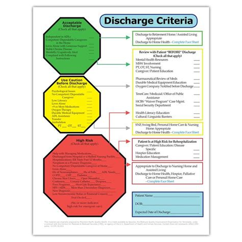 1000 Images About Discharge Planning On Pinterest Activities Assessment And To Work Discharge Planning Checklist Template