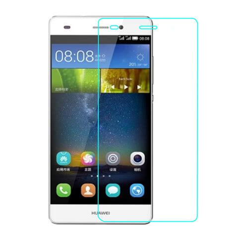 Huawei P8 Touch Screen Protector Tempered Glass Clear for huawei p8 lite ale l21 tempered glass screen protector