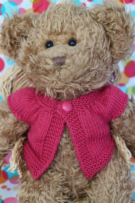 pattern teddy bear clothes teddy bear knitted clothes patterns craftsmumship a