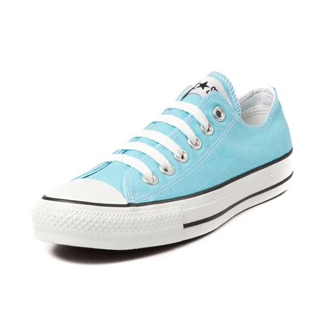 light blue converse womens converse all star lo bluefish sneaker in light blue