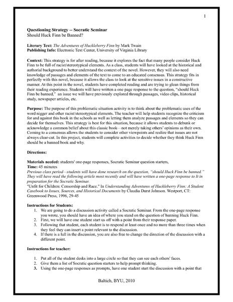 Socratic Seminar Lesson Plan Template by Socratic Seminar Lesson Plan Template Image Collections