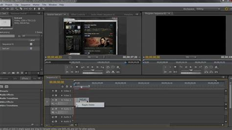 tutorial edit video dengan adobe premiere cs5 adobe premiere pro tutorial how to trim youtube