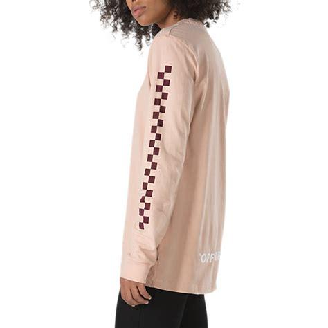 Sleeve Oversized T Shirt oversized checker sleeve t shirt shop at vans
