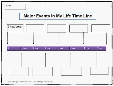 timeline templates for word 9 personal timeline templates free sle exle