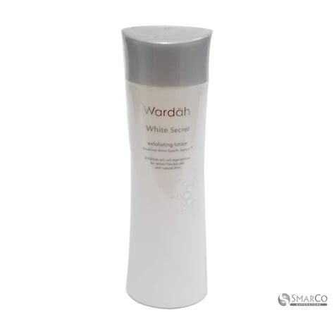 detil produk wardah white secret exfoliating lotion 1