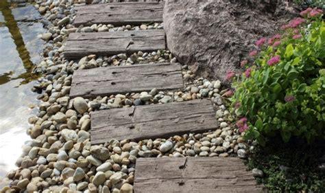 Bahnschwellen Beton Holzoptik by Platten