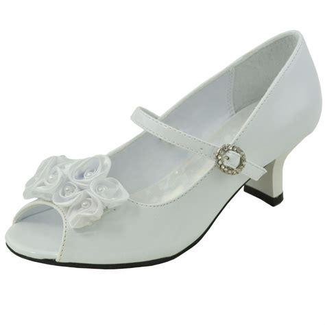 dress shoes beaded flower rosettes low heel
