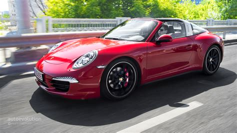 porsche car 2015 2015 porsche 911 targa tested autoevolution