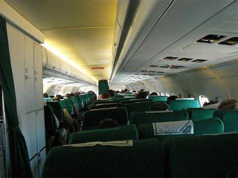 interno aereo ryanair in volo da madrid a roma con alitalia