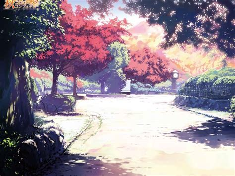 imagenes de paisajes anime descargar la imagen en tel 233 fono anime paisaje 193 rboles