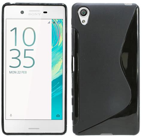 soft s line tpu silicone rubber transparent cover for sony xperia x xa x performance