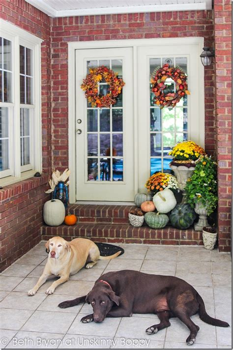 porch decor decorating the back front porch for fall unskinny boppy
