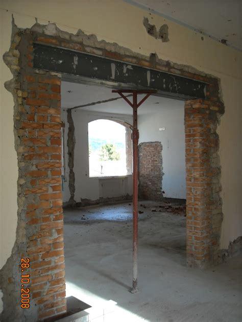 apertura porta in muro portante ingforum leggi argomento profilati per architrave
