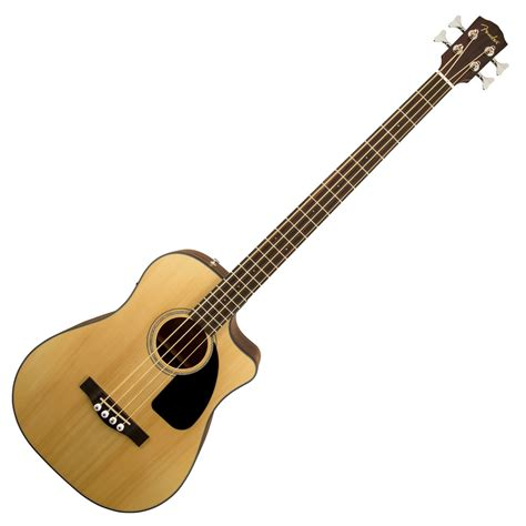 acoustic bass fender cb 100ce electro acoustic bass at