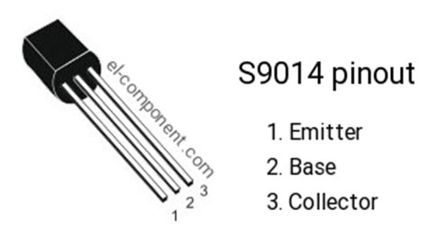 pin transistor c9013 s9014 n p n transistor complementary pnp replacement pinout pin configuration substitute