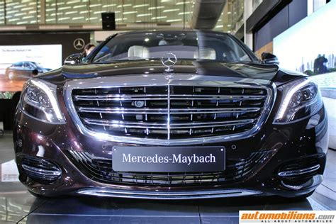 mercedes maybach s500 mercedes maybach s600 launched in india at rs 2 60 crores