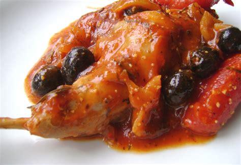 cuisiner du lapin en sauce lapin 224 la tomate et aux olives noires tartine jeanne