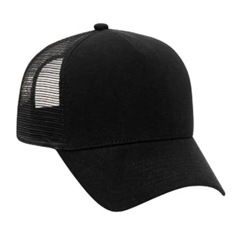 Trucker Hat Trucker 1 cotton flannel trucker hat with adjustable mesh back justin bieber solid black ebay