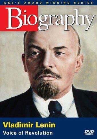 lenin biography in english a e biography vladimir lenin voice of revolution dvd