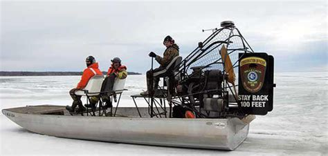 airboat safety working with tribes airboat safety training on mille lacs