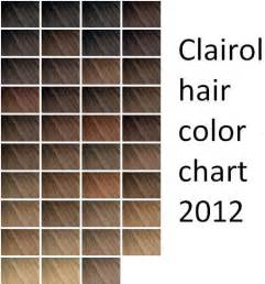 clairol professional hair color clairol hair dye color chart images