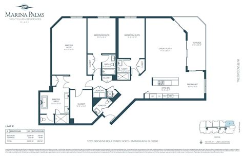 Floor Plans For Realtors by Marina Palms Aventura Condo One Sotheby S International