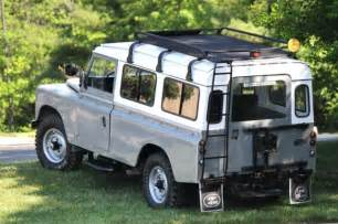Clean Upholstery Car 1980 Land Rover Series Iii 109