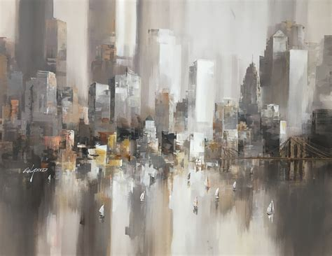 Painting In Nyc by New York 1 By Wilfred Lang 2017 Painting Artsper
