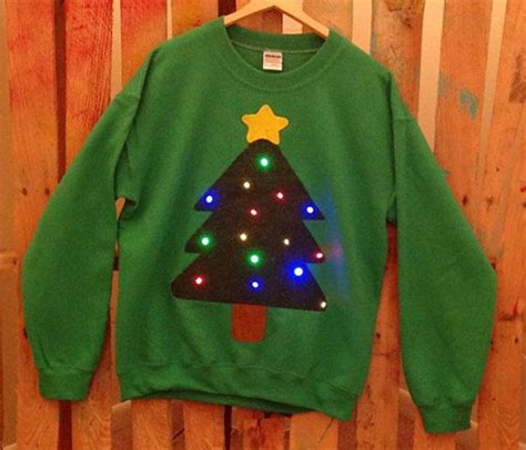 ugly crazy lighted christmas sweater ideas for girls