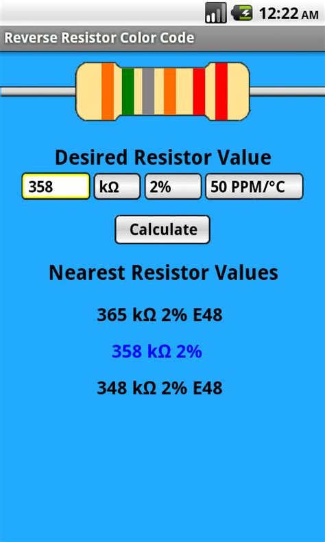 nearest resistor value calculator nearest resistor value calculator 28 images x24 led calculator led limiting resistor