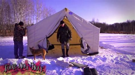 best wall tent to set davis wall tent winter set up start to finish