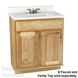 Hickory Bathroom Vanity by Hickory Vanity Cabinet 30 Quot Bath Bathroom Sink Ebay