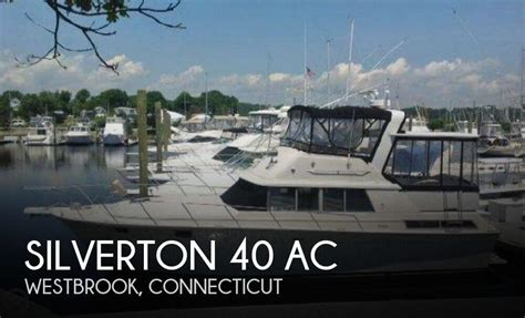 Silverton 40 Aft Cabin Review by Silverton 40 For Sale In Westbrook Ct For 39 900 Pop